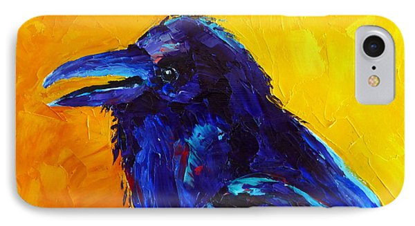 Chihuahuan Raven IPhone Case by Susan Woodward