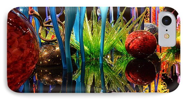 Chihuly-11 IPhone Case by Dean Ferreira