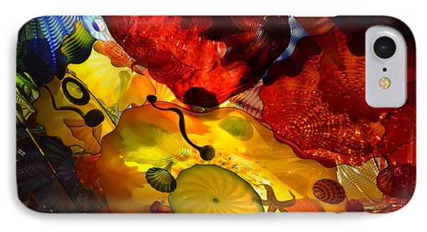 Chihuly-5 IPhone Case by Dean Ferreira