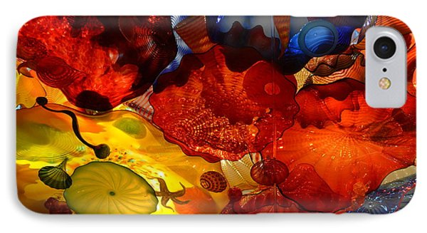 Chihuly-6 IPhone Case by Dean Ferreira