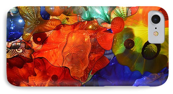 Chihuly-8 IPhone Case by Dean Ferreira