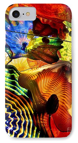 Chihuly Persian Ceiling IPhone Case by Pattie Calfy
