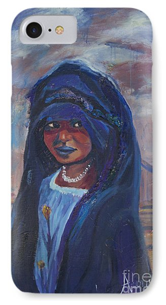 Child Bride Of The Sahara Phone Case by Avonelle Kelsey
