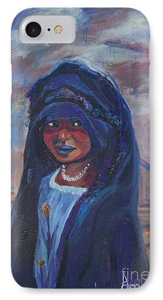 Child Bride Of The Sahara IPhone Case by Avonelle Kelsey