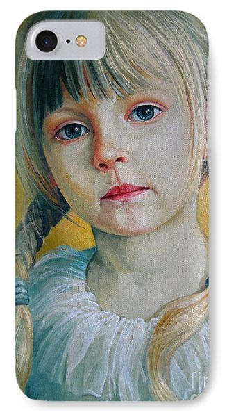 Child IPhone Case by Elena Oleniuc