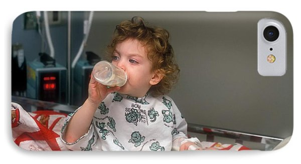 Child Hospitalised With Asthma IPhone Case