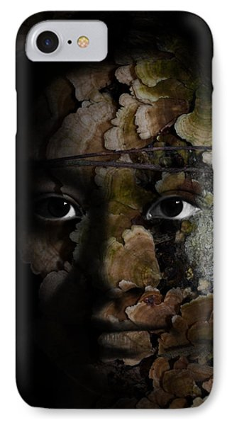 Child Of The Forest Phone Case by Christopher Gaston