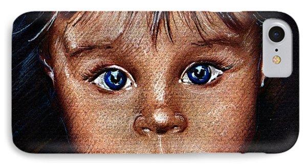 Child Portrait Phone Case by Daliana Pacuraru