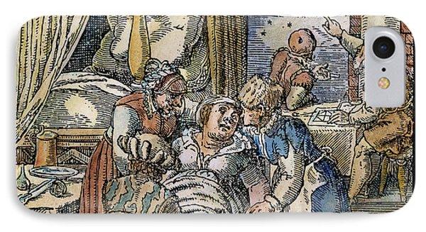 Childbirth, 1580 IPhone Case