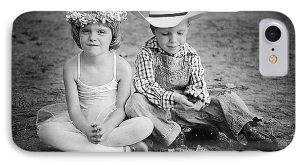 Childhood Phone Case by Cindy Singleton