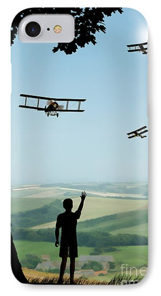 Childhood Dreams The Flypast IPhone Case