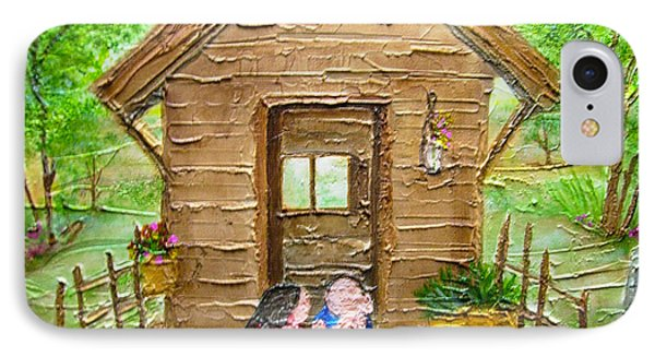 Childhood Retreat Phone Case by Jan Wendt