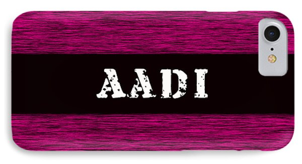 Childs Name Aadi IPhone Case by Marvin Blaine