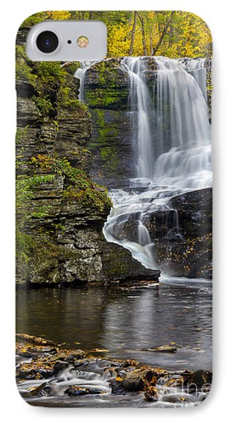 Childs Park Waterfall IPhone Case by Susan Candelario