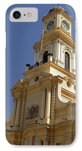 Chile, Santiago Royal Court Palace IPhone Case by Kymri Wilt
