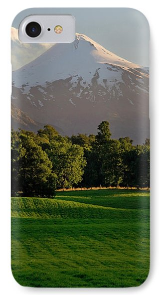 Chile South America Pasture In Rio IPhone Case by Scott T. Smith