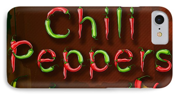 Chili Peppers IPhone Case by Bedros Awak