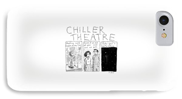 Chiller Theatre -- Scary Thoughts That Parody IPhone Case