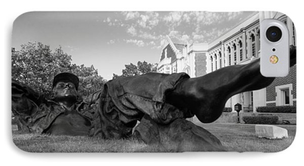 Chillin On The North Oval IPhone Case by Nathan Hillis