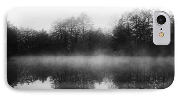 IPhone Case featuring the photograph Chilly Morning Reflections by Miguel Winterpacht