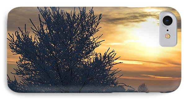 Chilly Sunrise IPhone Case