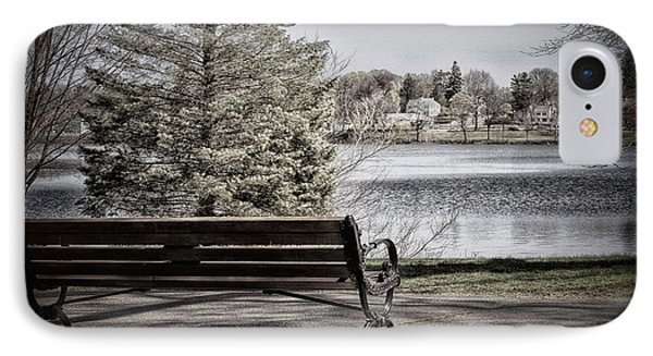 Chilly View IPhone Case by Tricia Marchlik
