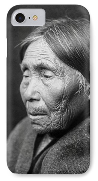 Chimakum Indian Woman Circa 1913 IPhone Case