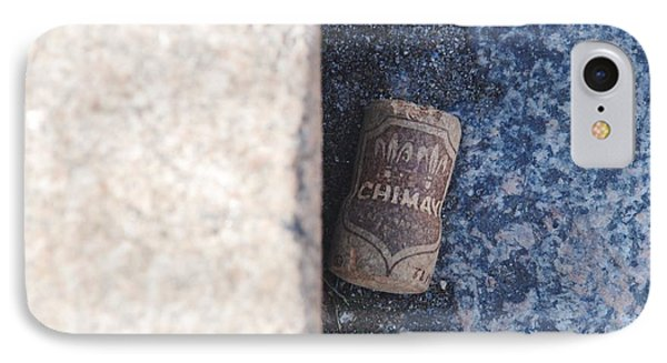 Chimay Wine Cork Phone Case by Rob Hans
