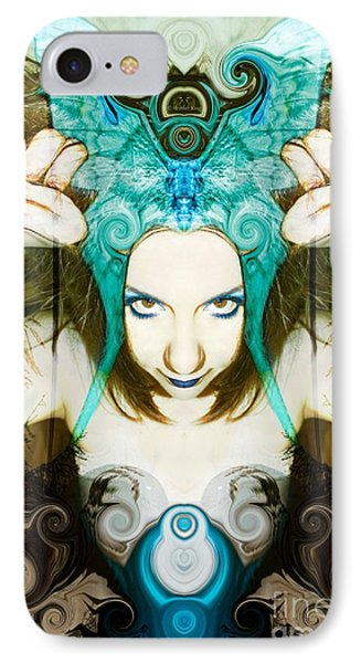 IPhone Case featuring the photograph Chimera by Heather King
