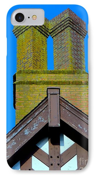 Chimney Abstract Phone Case by Ed Weidman