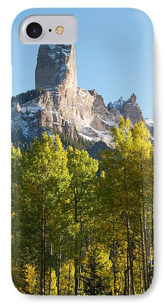 Chimney Rock - Colorado  IPhone Case by Aaron Spong