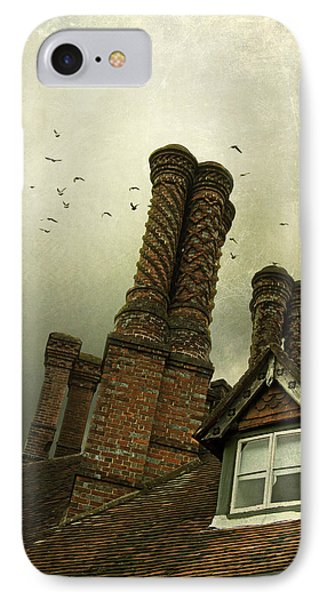 IPhone Case featuring the photograph Chimney Stacks by Ethiriel  Photography