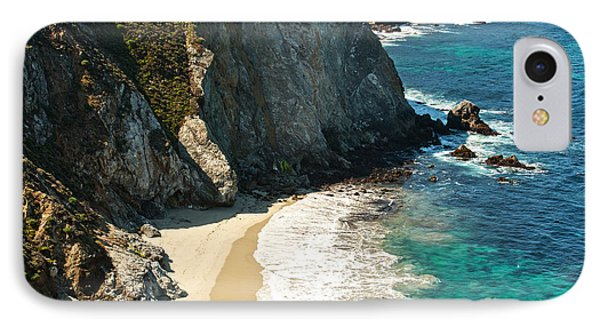 China Cove At Point Lobos State Beach Phone Case by Artist and Photographer Laura Wrede