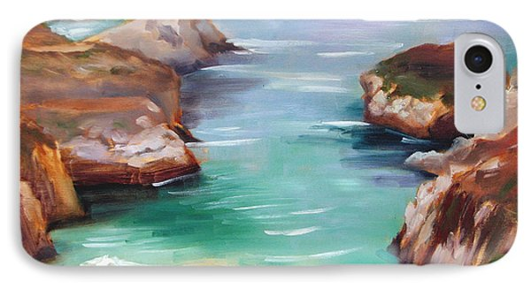 China Cove Colors IPhone Case by Karin  Leonard
