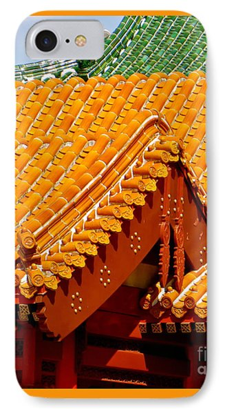 China Pavilion IPhone Case by Joy Hardee