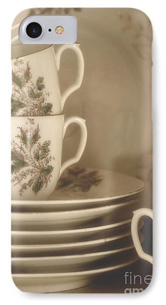 China Place Settings Phone Case by Birgit Tyrrell