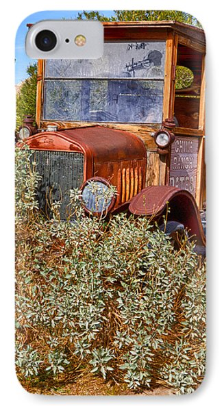 IPhone Case featuring the photograph China Ranch Truck by Jerry Fornarotto