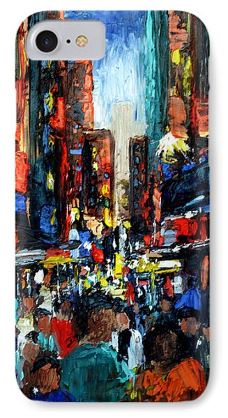 China Town Phone Case by Anthony Falbo