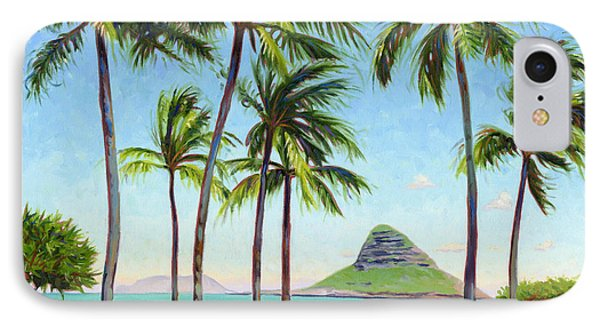 Chinamans Hat - Oahu Phone Case by Steve Simon