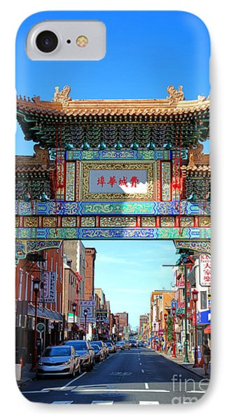 Chinatown Friendship Gate IPhone Case by Olivier Le Queinec