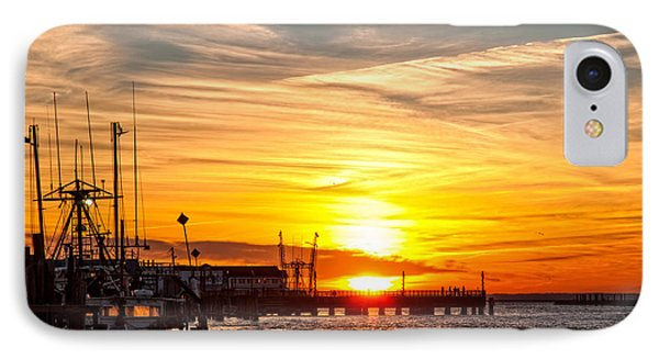 Chincoteague Bay Sunset IPhone Case