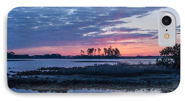 Chincoteague Wildlife Refuge Dawn IPhone Case