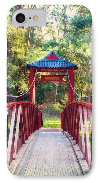 Chinese Bridge Wandiligong Phone Case by Linda Lees