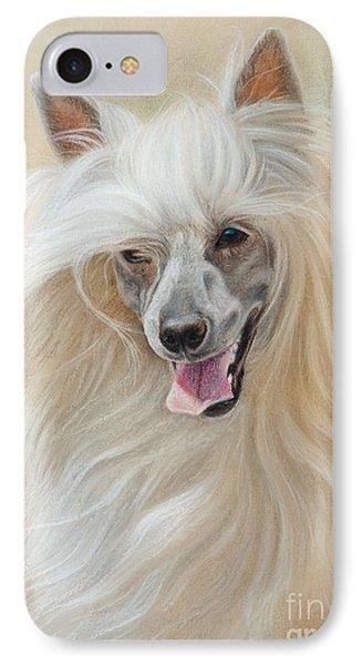 Chinese Crested Dog IPhone Case by Tobiasz Stefaniak