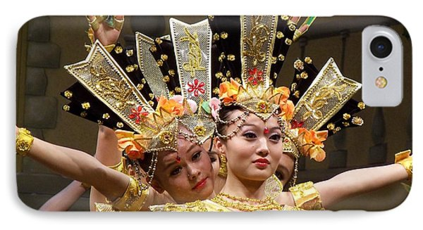 Chinese Dancers Perform Thousand Hands Guan Yin IPhone Case