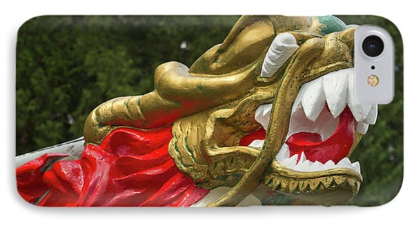 Chinese Dragonboat Figurehead, Stanley IPhone Case by William Sutton