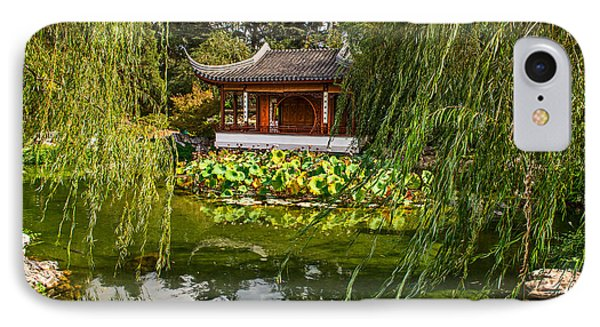Chinese Garden Breeze IPhone Case