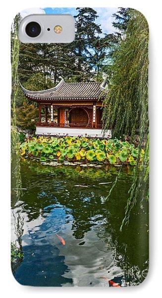 Chinese Garden Dream IPhone Case by Jamie Pham