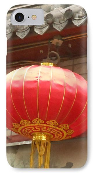 IPhone Case featuring the photograph Chinese Lantern by Kay Gilley