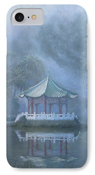 Chinese Pavilion IPhone Case by Leonard Filgate